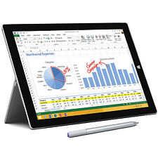 Microsoft Surface Pro 3 128GB, Wi-Fi, 12in - Silver