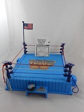 WWF Wrestling Ring Hasbro Figuren 1989 Hulk Hogan Wrestlemania Champion Gürtel