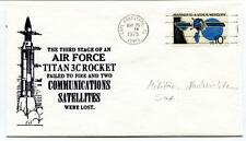 1975 Third Stage Air Force Titan 3C Rocket Failed Communications Satellites NASA