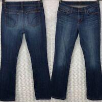 Joe's Jeans Petite Boot Cut Ryder Provocateur Dark Wash Mid Rise Stretch Size 25