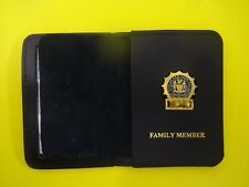 NYPD Style Detective Family Member id Wallet and Mini Shield with Random Numbers
