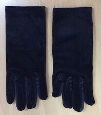 Brand New Black Velvet Gloves S-M