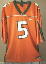 Miami Hurricanes NCAA Nike Classic Orange #5 2XL Jersey