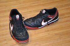 Nike 5 Gato 2011 Mens 11.5 Indoor Soccer Shoes Black Red 415123-016 Skateboard