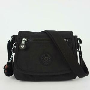 KIPLING SABIAN Mini Shoulder Crossbody Bag Black Tonal