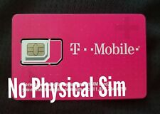 *T-Mobile SIM Card *DIGITAL* ICCID numbers UN-Activated NO Physical Sim shipped