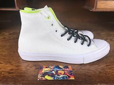 Converse Chuck Taylor All Star II High Top White/Black 153531C Mens Size 9.5