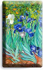 Vincent Van Gogh Irises Flower Garden Phone Telephone Cover Plates Studio Decor