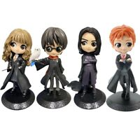 Harry Potter Cute Action figure Hermione Ron Malfoy Snape Model Doll Toys Gift