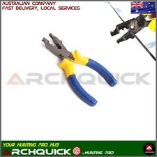 Archery Bow String Nocking Point and D - LOOP Plier Archery Bow Tool