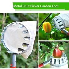 Gardening Apple Peach Picking Tools Metal Fruit Picker Convenient Horticultural
