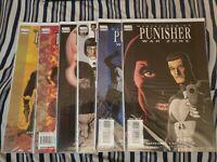 Punisher War Zone 1-6 Complete Set Lot Garth Ennis Marvel Knights Steve Dillon