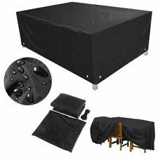 VGEBY 210D Copertura per mobili da Giardino Copertura per Tavolo da Esterno Rettangolare Impermeabile per coperture protettive per mobili da Giardino