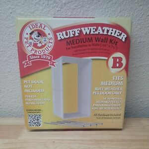 Ideal Pet Ruff-Weather Medium Wall Installation Kit Model # RWMWK Open Box