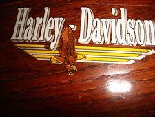 """HARLEY DAVIDSON VINTAGE SM EAGLE DECAL LOGO 4"""" X 2.25"""" (Outside) NEW"""