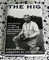 Joe Paterno SIGNED The Hig by Rich Donnell Penn State Football Nittany Lions HC