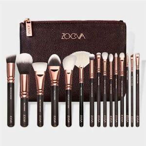 15 Make-up Pinsel Make-up Pinsel Set Schönheit Werkzeuge Powder Brown Black