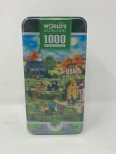 MasterPieces World's Smallest Puzzle Tin 1000 Piece Bonnie White New