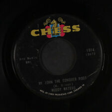 """Muddy Waters: short dress woman / my john the conquer root Chess 7"""" Single"""