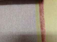 Mulberry Flynn Herringbone Tweed Soft Pink Wool Type Upholstery/Curtain Fabric
