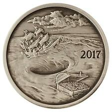 ANTIQUE 2017 FINDING SILVERBUG ISLAND #4 WHIRLPOOL NUMBERED REDDIT 1 oz .999