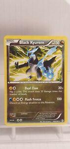 NEAR MINT Black Kyurem 100/149 Boundaries Crossed RARE HOLO SHINY POKEMON CARD