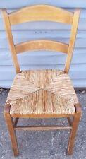 Restaurant Equipment Bar Supplies 4 Wood Restaurant Chair With Rush Seating