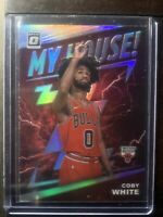 COBY WHITE 2019-20 DONRUSS OPTIC #9 MY HOUSE INSERT HOLO SILVER PRIZM ROOKIE RC
