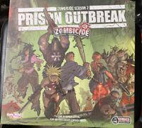 CMON Zombicide Season 2 Prison Outbreak Board Game New SW FREE US Shipping