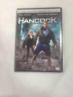 Hancock (DVD, 2008, 2-Disc Set, Unrated)
