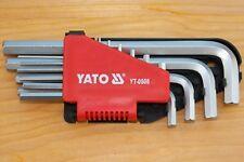YATO Innensechskant-Set H2 - H12 Stiftschlüssel und Halter - #180907