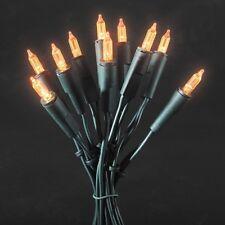 LED Mini-Lichterkette 35er orange 5,10m Konstsmide 6302-850