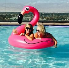 Opblaasbare Flamingo gonflable inflatable 120cm GEANT zwemband plage
