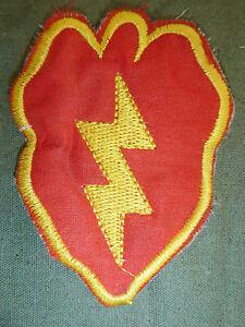 CU CHI TUNNELS - Patch - US 25th INFANTRY - TROPIC LIGHTNING - Vietnam War, 0971