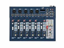 Mixing Console Professional Audio DJ Mixer 7 Channel Equipment Musical Studio