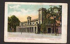 Postcard 1906 ROYAL PUMP ROOM & BATHS LEAMINGTON With NEWPORT MON Postmark
