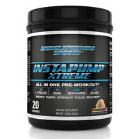 INSTAPUMP XTREME All In 1 pre workout Lcitrulline Bcaa creatine betaine agmatine