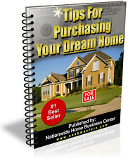 TIPS FOR PURCHASING YOUR DREAM HOME PDF EBOOK FREE SHIPPING RESALE RIGHTS