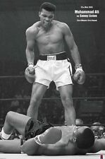 MUHAMMAD ALI PORTRAIT 24x36 poster  SONNY LISTON BOXING CHAMP CASSIUS CLAY ICON!