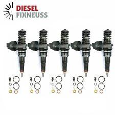 5x BOSCH Pumpe-Düse-Einheit VW Tourareg 2.5 TDI 07Z130073F 0414720210 Injektor
