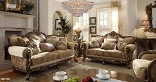 Homey Design Athens Euro Sofa and Loveseat Furniture HD-506
