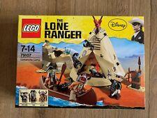 The Lone Ranger LEGO 79107 Comanche Camp NISB New Sealed Box