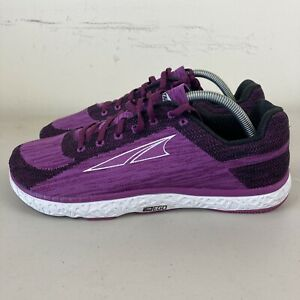 Altra Escalante Womens Running Shoes US 10.5 Purple New Free Postage