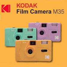NEW - Kodak Vintage Retro M35 35mm Reusable Film Camera Blue Green Yellow Purple