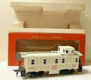 """Vintage 1959 Lionel """"AEC"""" Caboose HO Scale No.0817-200 With Box Unused As-Is!"""