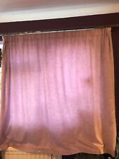 Lilac curtains with faint marble pattern Width 66 Drop 54