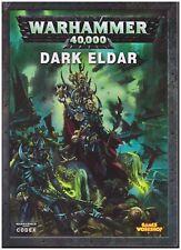 GW Warhammer 40k Codex Army Book: Dark Eldar 5th Edition (Soft Cover)