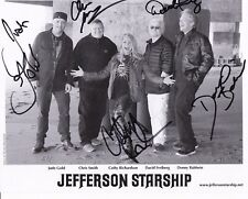 8 1/2 x 11 Glossy Photo Jefferson Starship Autograph {248}