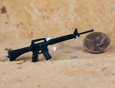 "Hasbro GI Joe 1:18 Action Figure Accessory 3.75"" M16 Carbine RIFLE M-16 G19_K"