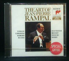 CD JEAN-PIERRE RAMPAL - the art of, Vivaldi, Cimarosa, Romano, Reicha